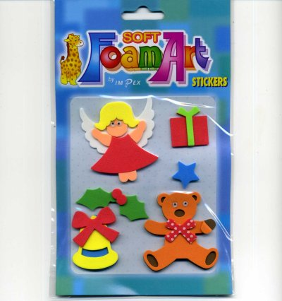 Foam Art - Christmas Toppers