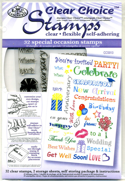 Clear Choice Stamps - Special Occasions Greetings