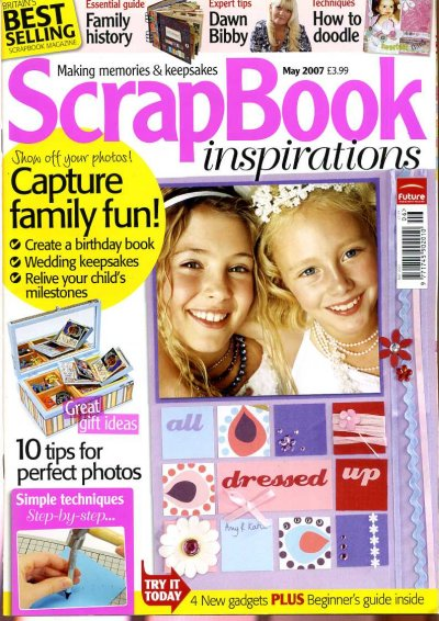 Scrapbook Inspirations, Issue 27, May 07