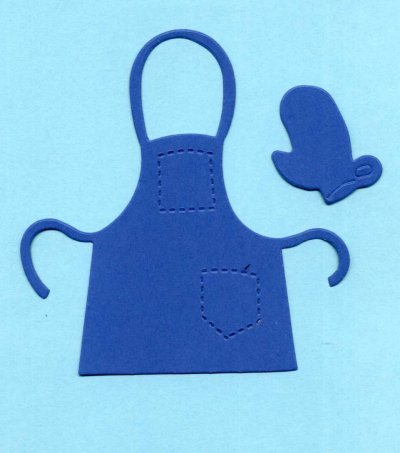 Apron & glove x 8 sets