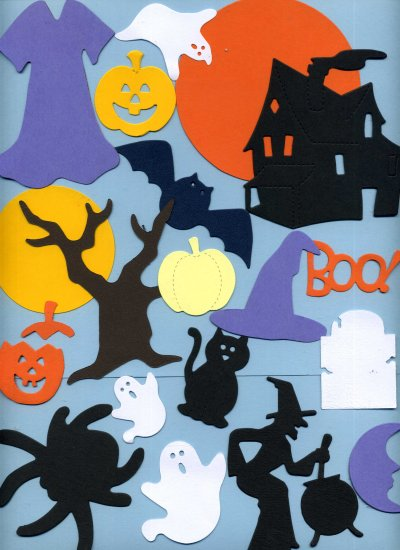 Assorted Die Cuts - Halloween