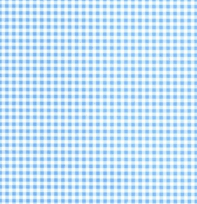 Backing Paper A4 - Blue Gingham (Baby Blue)