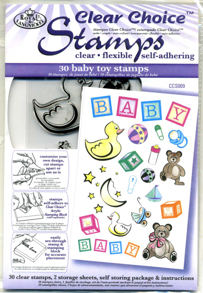 Clear Choice Stamps - Baby Toys