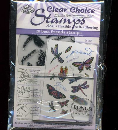 Clear Choice Stamps - Best Friends & Butterflies