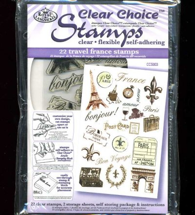 Clear Choice Stamps - Travel France (Vintage)