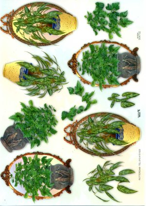 A4 Decoupage Sheet - Plants (504732)
