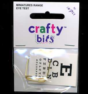 Miniature Eye Test & Glasses (Opticians)