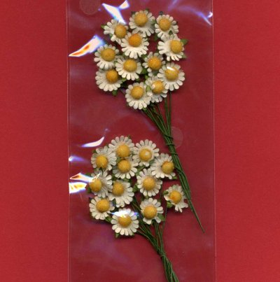Floral Effects - Flower Sprays - Daisies x 2 (FS12)