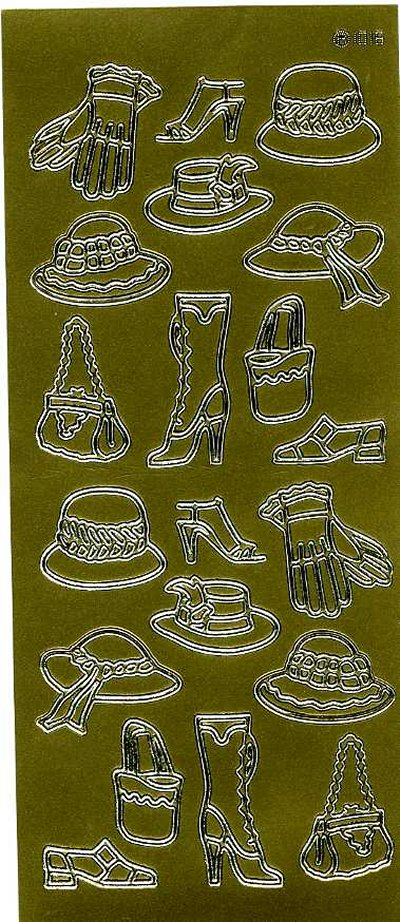 Hats, Bags, Shoes & Gloves - Gold
