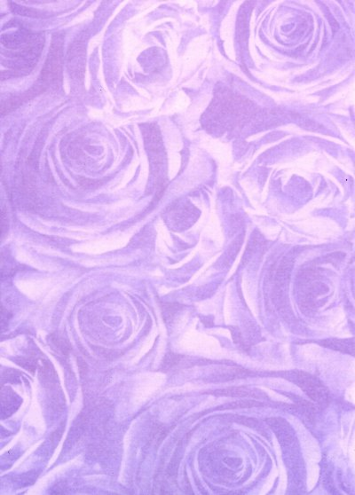 Backing Paper A4 - Lilac Rose Montage (Large)