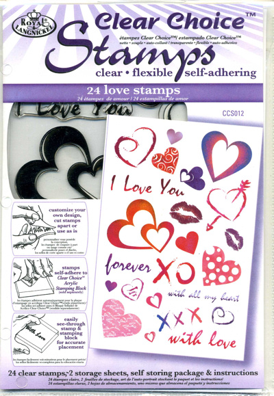 Clear Choice Stamps - Love