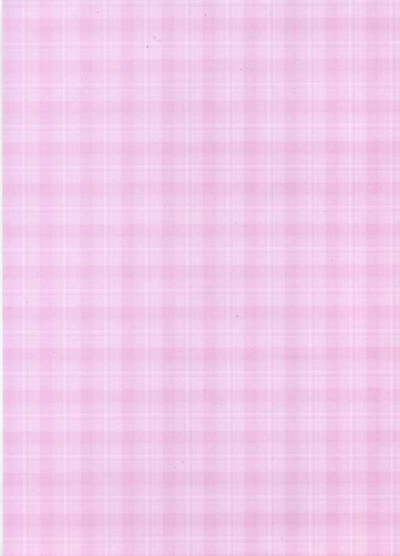 Backing Paper A4 - Pink Plaid
