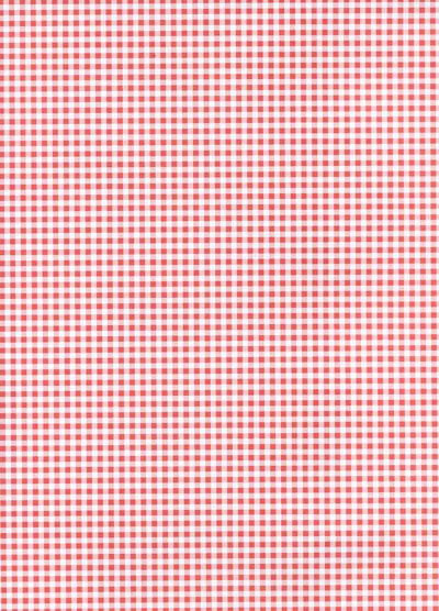 Backing Paper A4 - Red Gingham