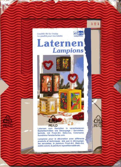 Lantern Building Kit - Red