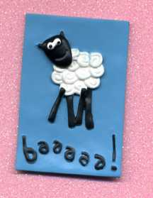 3D Whimsical Topper - Sheep