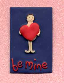 3D Whimsical Topper - Be Mine (Valentine)