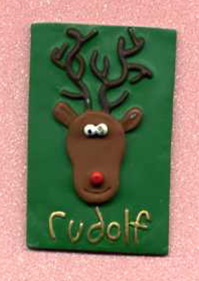 3D Whimsical Topper - Rudolf