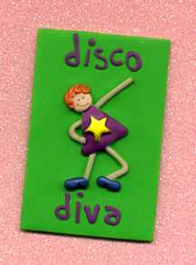 3D Whimsical Topper - Disco Diva