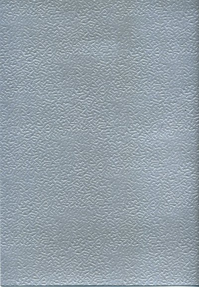 Embossed Card A4 - Silver (Woodchip) - 225gsm