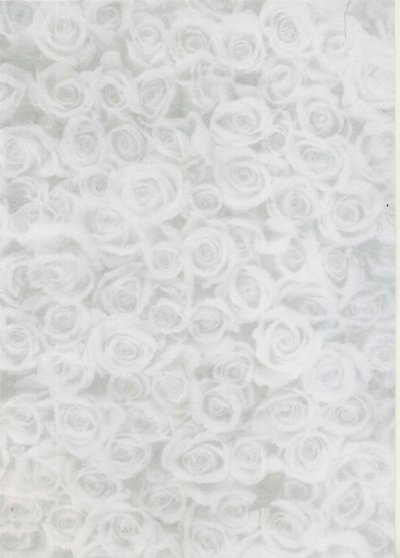 Printed Card A4 - Silver Rose Montage (Small)