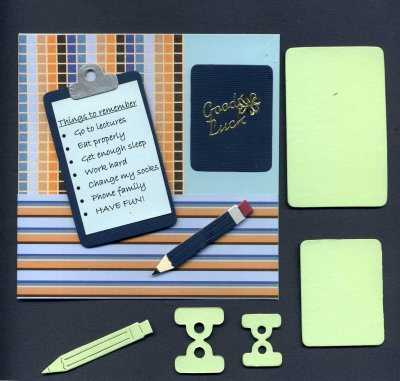 Clipboards & Pencil x 10 sets