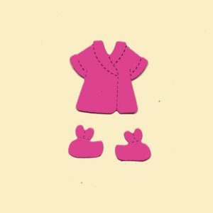 Doll Bath Clothes x 10 sets