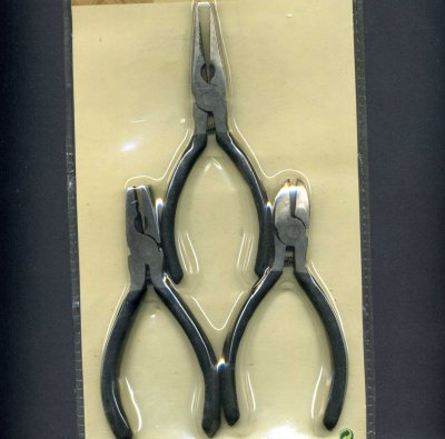 Set of 3 Craft Tools - Pliers & Cutters