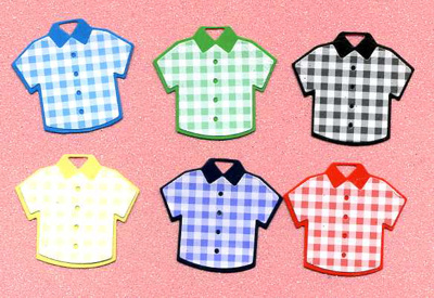 Mens Shirts (small - embellished) x 6