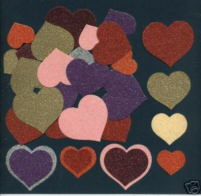 Hearts - four sizes x 28
