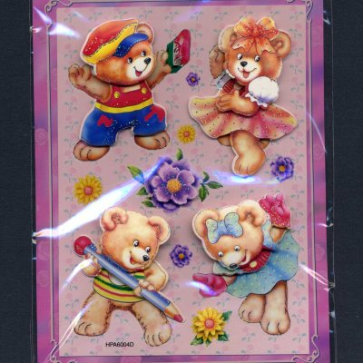 Handmade Art - Dimensional Stickers (FX358) - Click Image to Close