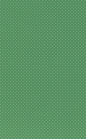 Printed Card A4 - White dots on Green