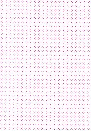 Printed Card A4 - Pink Spotty