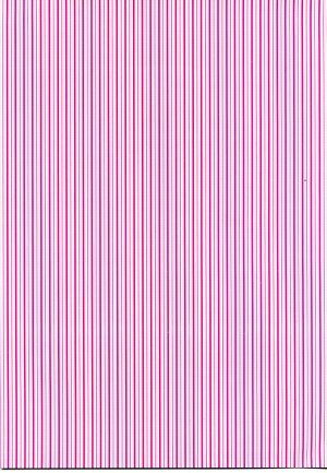 Printed Card A4 - Pink Stripes
