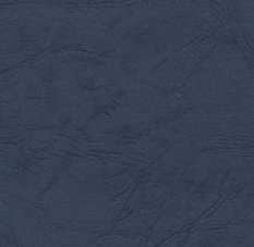 Card A4 - Blue (Navy) Leather - 270gsm