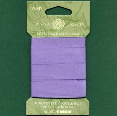 Double Face Satin Ribbon - Lavender