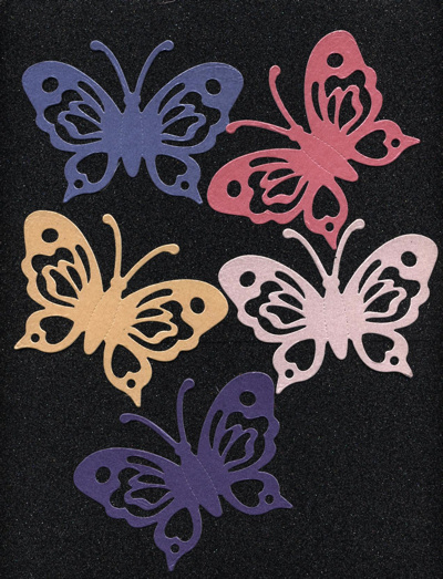 Butterflies - Large x 8