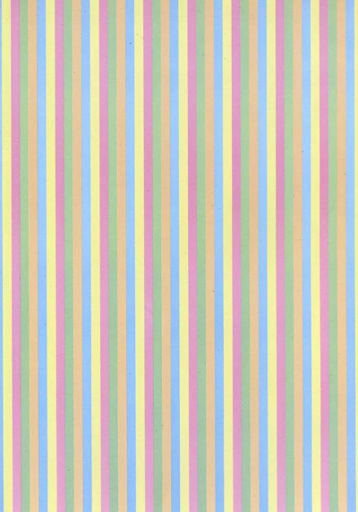 Backing Paper A4 - Pastel Candy Stripe