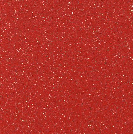 Glitter Card A4 - Red (Fire Red)