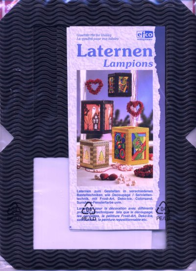 Lantern Building Kit - Navy