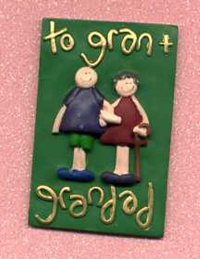 3D Whimsical Topper - To Gran & Grandad